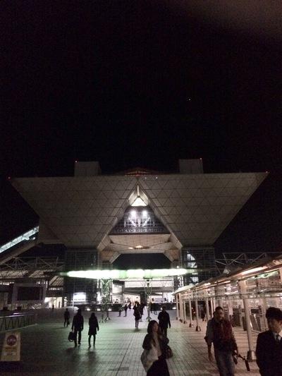 受付会場の東京ビッグサイトです!