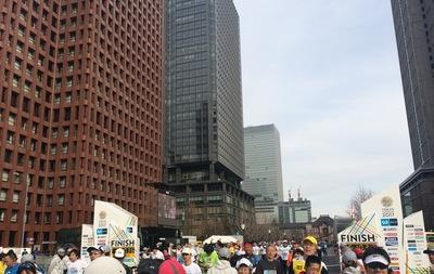 無事、東京マラソン完走しました!