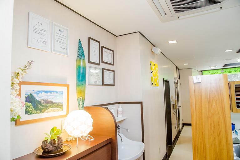 診療室内廊下