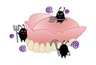 入れ歯は寝ている時は外したほうがいいですか?