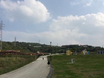 中城公園大きいです!
